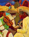 "Zapatistas, 11"" X 14"" Print from an Oil Painting by Andrew Shows"