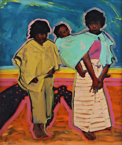 "Las Ninas, 11"" X 14"" Print from an Oil Painting by Andrew Shows"
