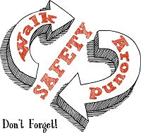 18S - Don't Forget Safety Walk Logo