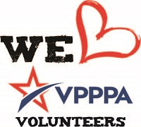 18V - VPPPA We Love Volunteers Exclusive Logo