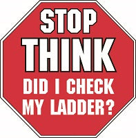 20S - Stop Think Ladder Check Logo