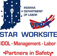 21V - Indiana Star Worksite Logo