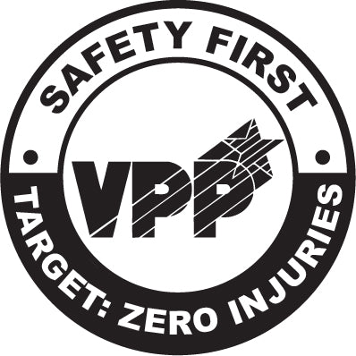 47V1 Previous VPP Safety First Target Zero logo