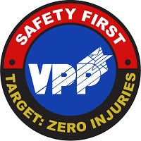 47V - Previous VPP Safety First-Target Zero Injuries Logo