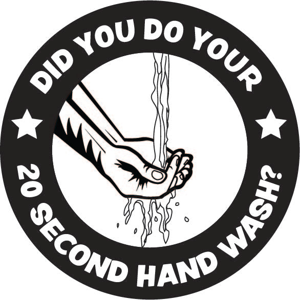 4W1 20 Second Hand Wash logo