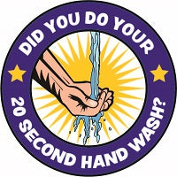 4W - 20 Second Hand Wash Logo