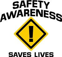 5S - Safety Awareness Saves Lives Logo