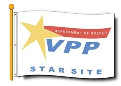 DOE  VPP Star Site Flag 4'x6' Double Sided - #1113858