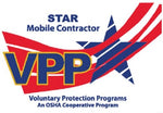 VPP Mobile Contractor Star Worksite Flag 3'x5' Double Sided - #1152453