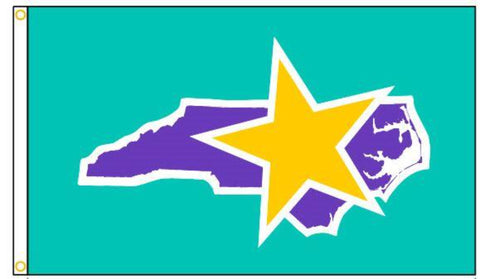 North Carolina VPP Star Worksite Flag 3'x5' Double Sided - #1154518