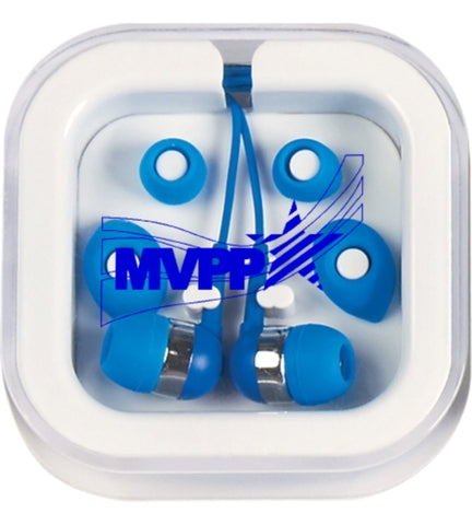 Earbuds in Case w/MVPP Logo - #400705