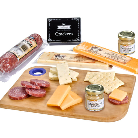 Charcuterie Favorites Board With Meat & Cheese Set - #403253