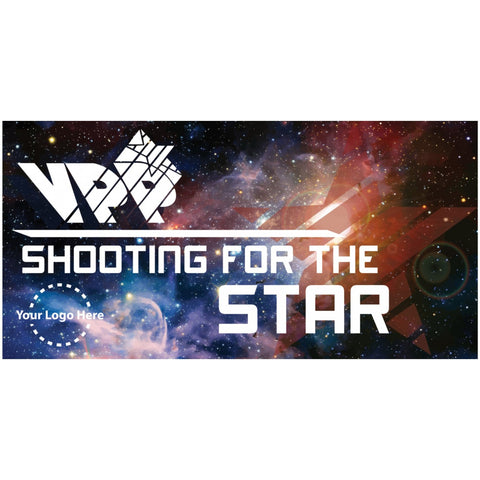 Galaxy Shooting For the Star Banner - #224961