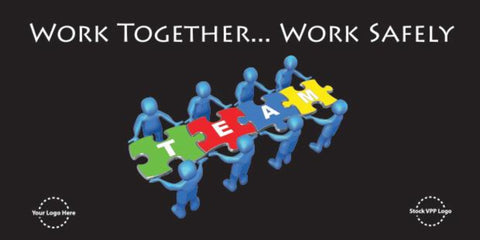 Work Together Puzzle Banner  - #224969