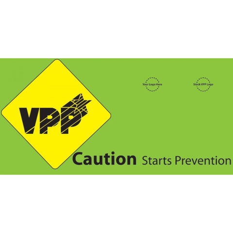 Caution Sign Banner- #403376B