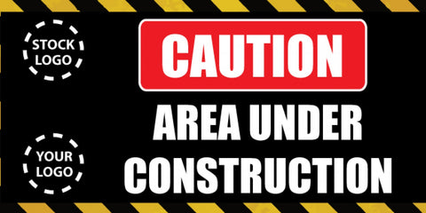 Area Under Construction Banner - #224991