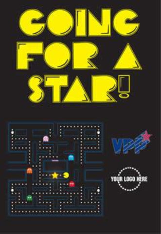 VPP Going For A Star Arcade Game Poster - #225009