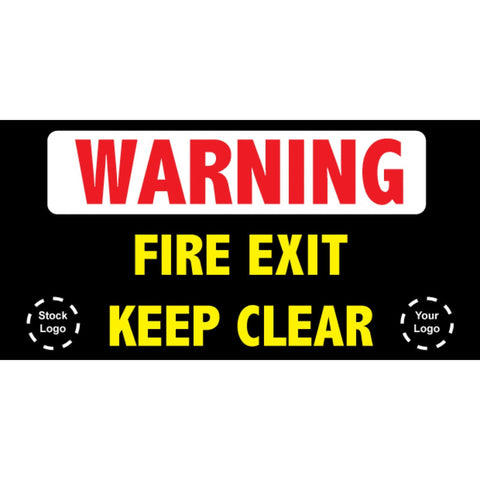 Fire Exit Banner - #225035