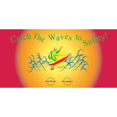 Catch the Wave Banner - #402930B