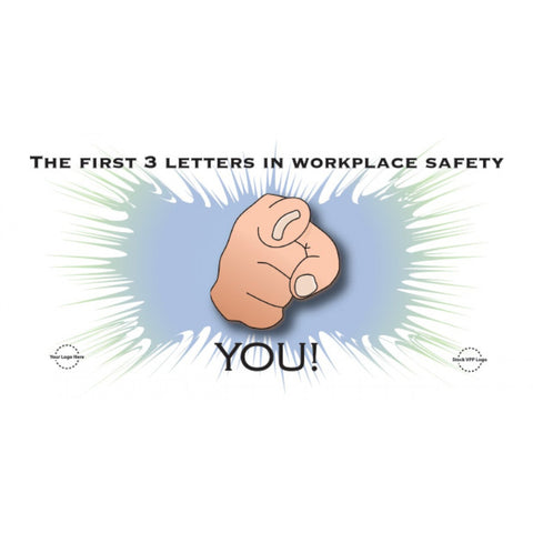 Workplace Safety Banner - #403398B