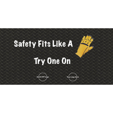 Fits Like a Glove Banner - #403379B
