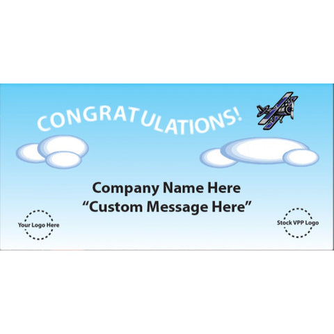 Congratulations Cloud Banner - #403369B