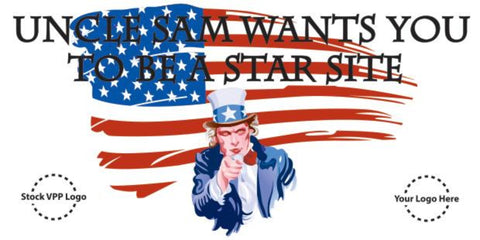 Uncle Sam Wants You Banner - #225162