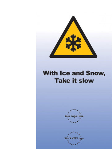 Ice and Snow Caution Poster - #225200P