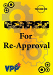 VPP Geared For Re- Approval Poster - #225221