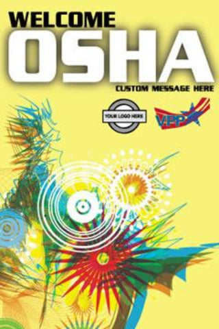 Welcome OSHA Two Poster - #225247P