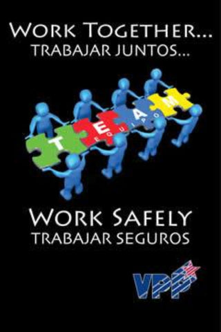 Work Together Puzzle Poster - Bilingual - #403384SP