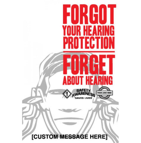 Hearing Protection Poster - #403375P