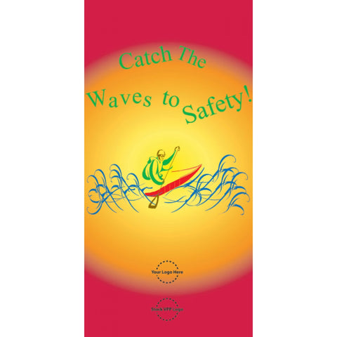 Catch The Waves To Safety Poster - #402930P