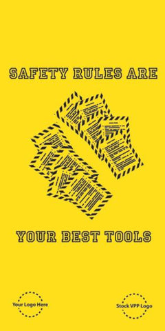 Safety Rules Are Your Best Tools Poster - #225307P