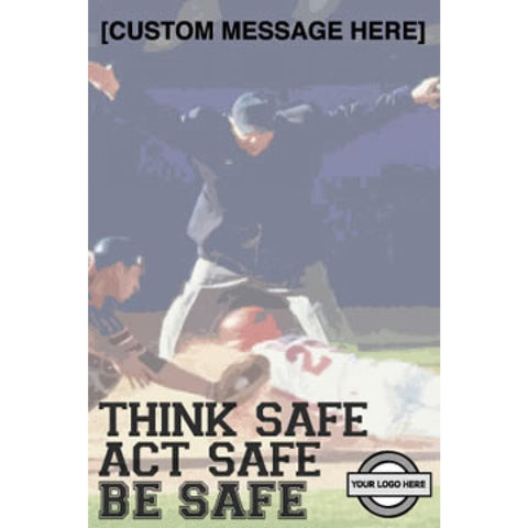 Baseball Safety Poster - #402933P