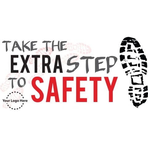 Extra Step Safety Banner - #225412