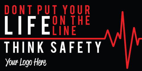 Life Line Safety Banner - #225419