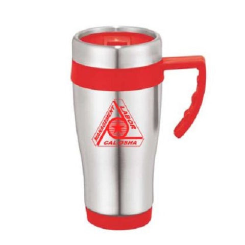 Seaside Travel Mug w/CAL OSHA Logo - 401295