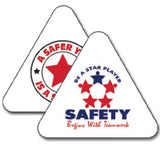 Triangle Hard Hat Decal Full Color - #400051