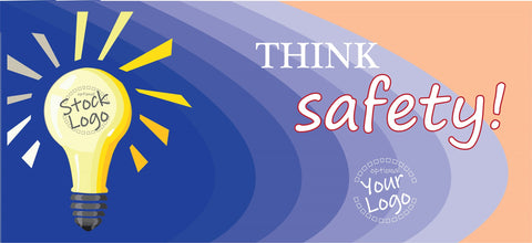 Think Safety Banner - #400592B