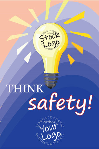 Think Safety Poster - #400592P