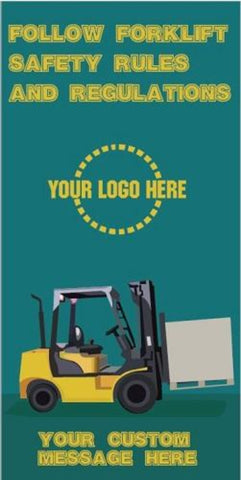 Follow Forklift Safety Poster - #400814P