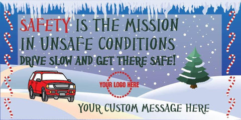 Safety Mission Banner - #400864