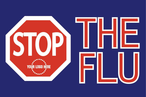 STOP the Flu Banner - #400867B
