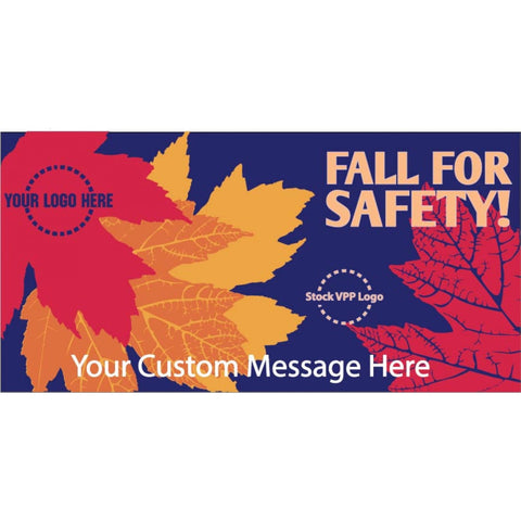 Fall For Safety Banner - #400885