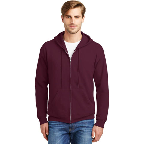 Full Zip Hooded Sweatshirt - #401061