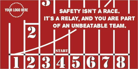 Unbeatable Safety Banner - #401139B