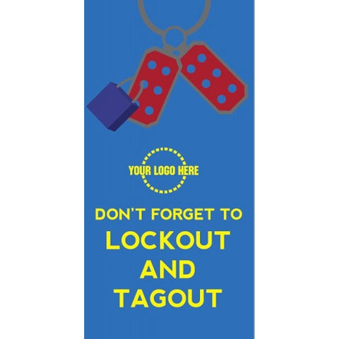Lockout AND Tagout Poster- #401165P
