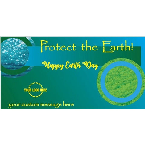 Protect The Earth Banner - #401166B