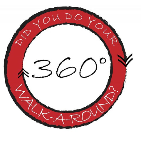 Did You Do Your 360 Walk Around Banner - #401409B